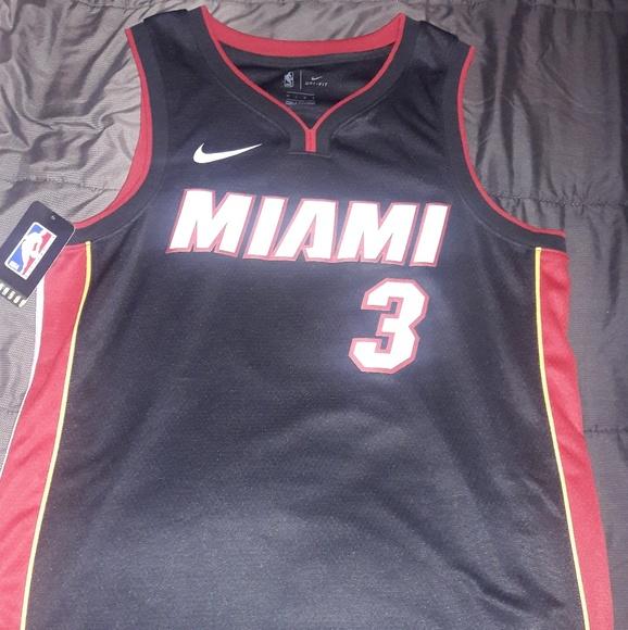 best service 9615e b6c2a Authentic NBA Nike Wade Miami Heat Swingman Jersey